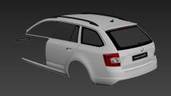 Skoda Octavia RS Combi Body