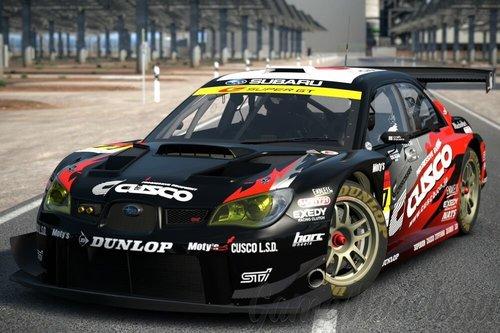 DETAILED CUSCO DUNLOP Subaru Impreza GT300 '08 - Subaru ...