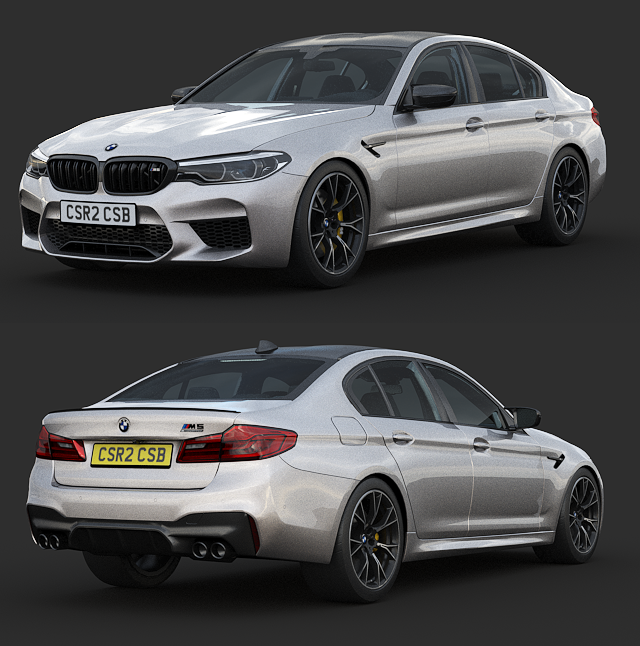 BMW M5 Competition 2019 from CSR2