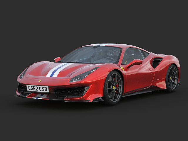 Ferrari 488Pista 2019 #2 from CSR2