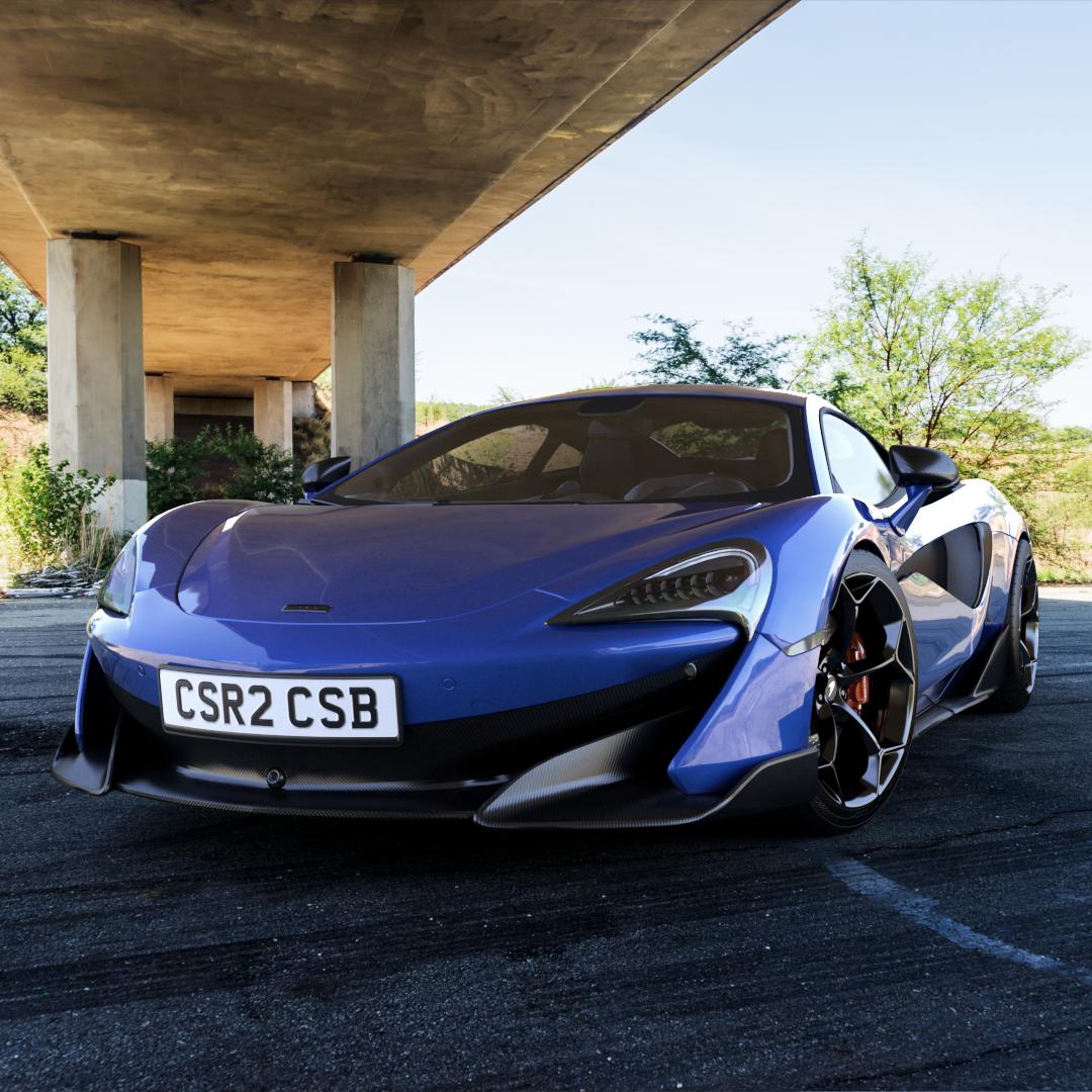 McLaren 600LT 2019 from CSR2