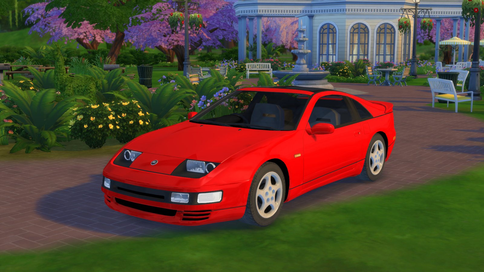 1994 Nissan 300ZX Fairlady Z Twin Turbo for The Sims 4
