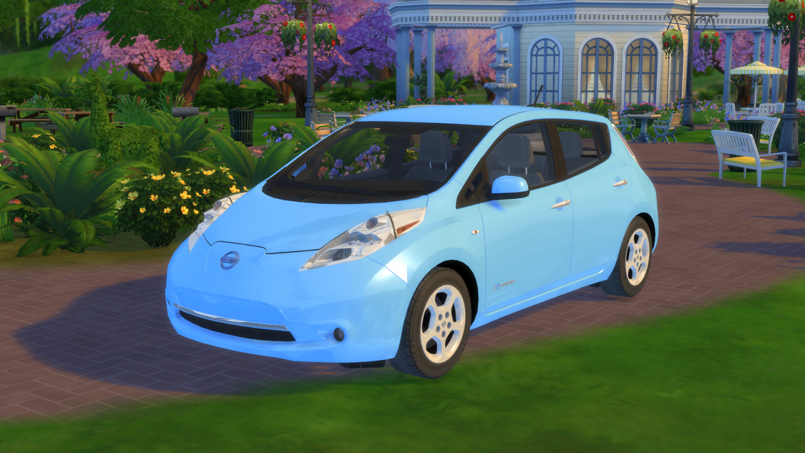 2011 Nissan Leaf G for The Sims 4