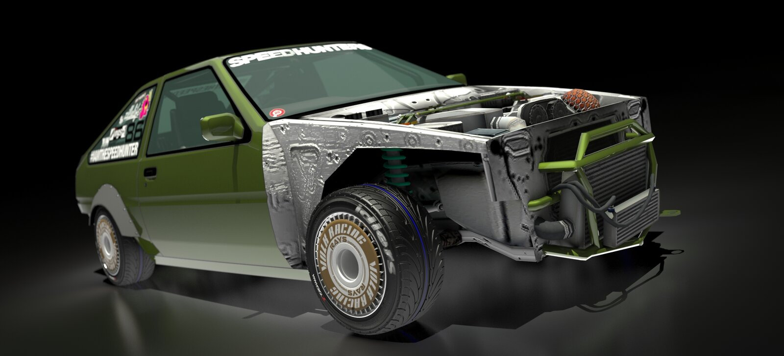 Volk Turbine AE86
